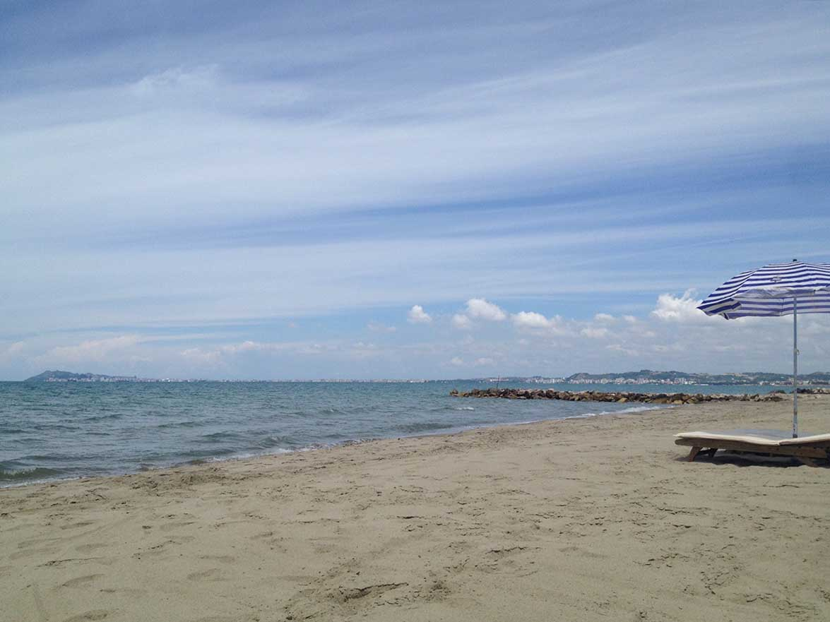 Playa del Este Karpen Albanien ©Ines Erlacher