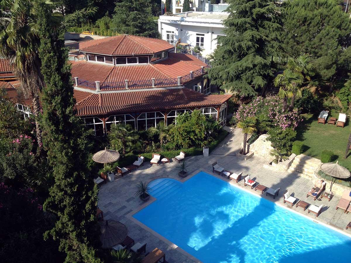 Rogner Hotel Europapark Tirana Albanien ©Ines Erlacher