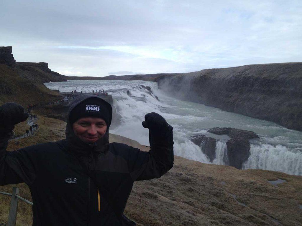 Gullfoss Wasserfall Island ©Ines Erlacher