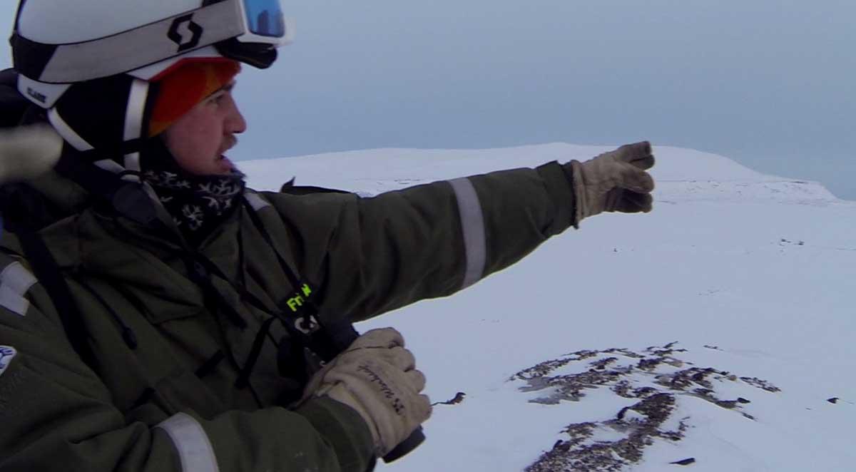 Expedition Spitzbergen Schneemobil