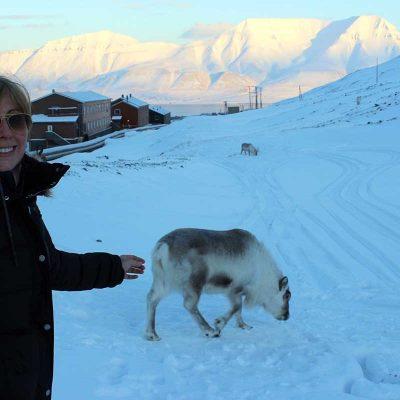 Longyearbyen Spitzbergen Abenteuer Arktis Rentiere Longyearbyen www.gindeslebens.com