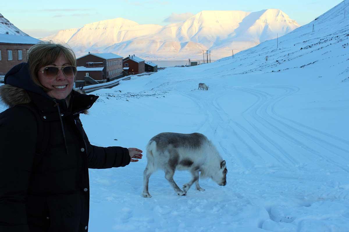 Rentier Longyearbyen Spitzbergen © Ines Erlacher und Thomas Mussbacher