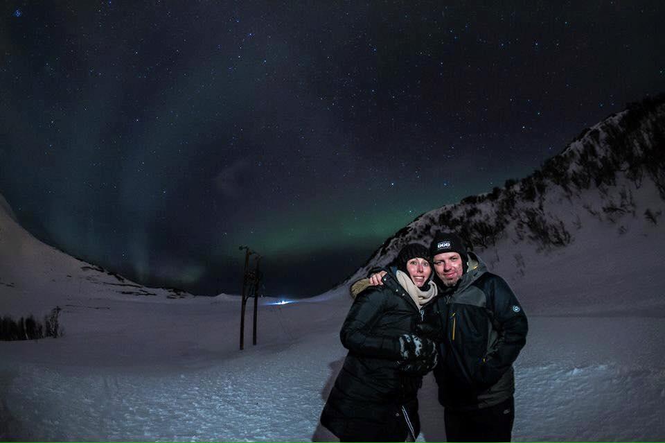 Nordlichter Tromsø Foto Northern Lights Tromsø Ines Erlacher und Thomas Mussbacher