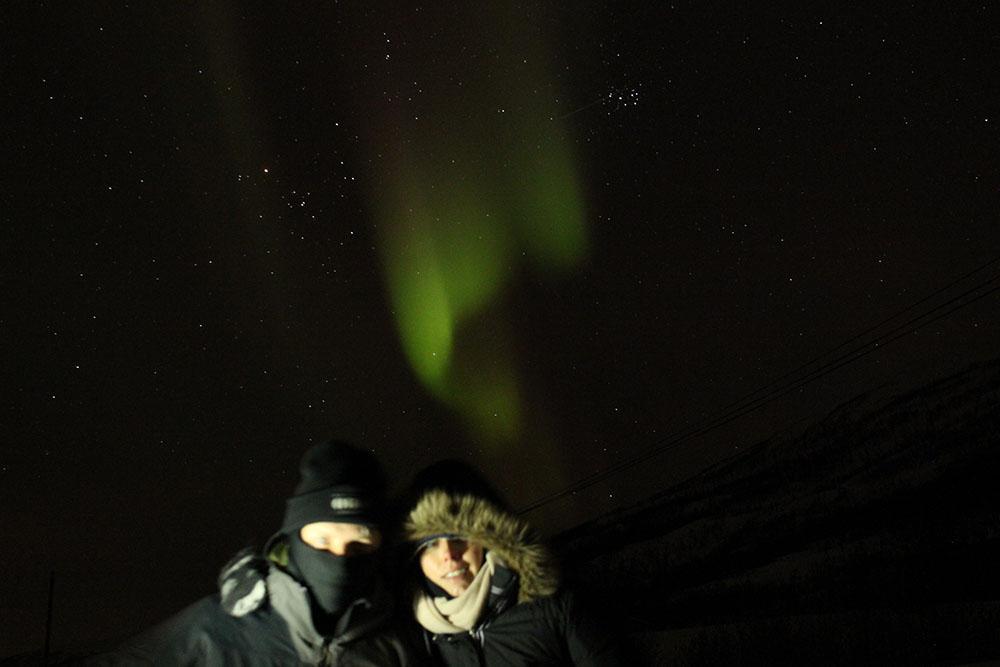 Nordlichter Tromsø ©Ines Erlacher und Thomas Mussbacher
