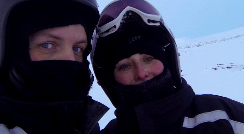 Schneemobil Expedition Spitzbergen Ostküste ©Ines Erlacher und Thomas Mussbacher