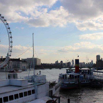 Themse, London Eye und Big Ben London Tipps und Sehenswertes www.gindeslebens.com