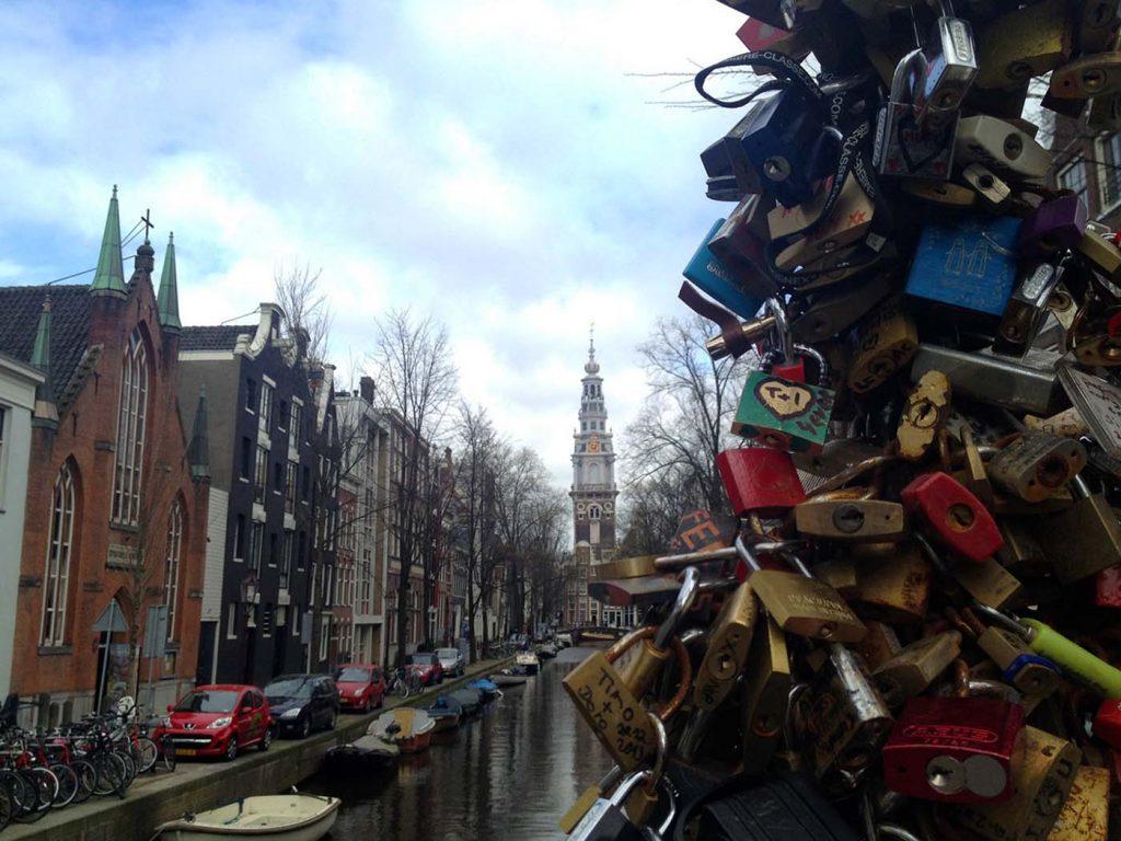 Liebesschloss Amsterdam © Thomas Mussbacher und Ines Erlacher