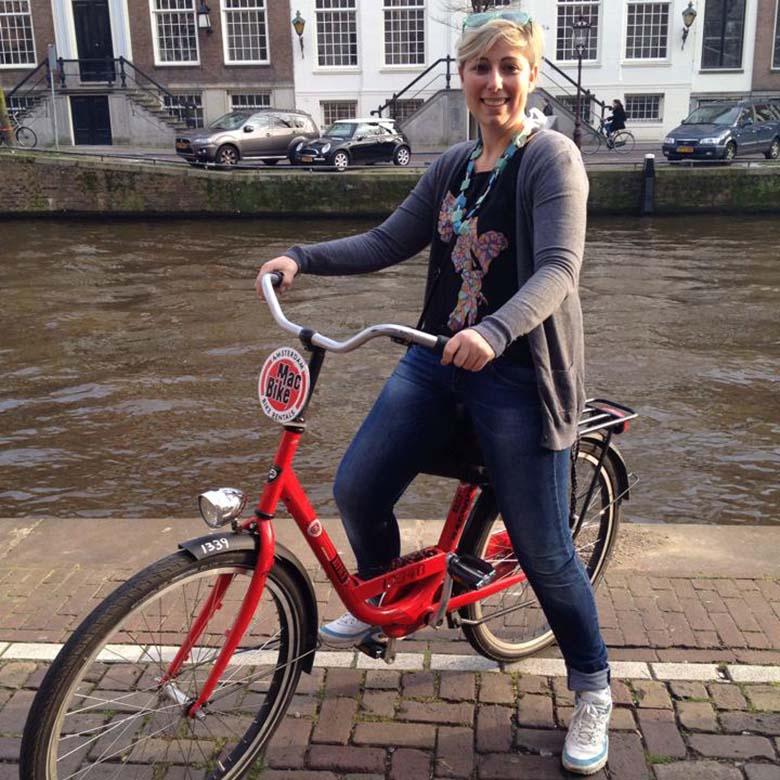 Radfahren Amsterdam © Thomas Mussbacher und Ines Erlacher