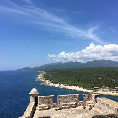 Ausflug im Oldtimer zum Castillo San Pedro de la Roca Sehenswertes in Santiago de Cuba - das ursprüngliche Kuba - Reisebericht, Ausflüge und Tipps www.gindeslebens.com