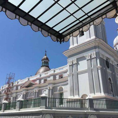 Blick auf die Kathedrale Sehenswertes in Santiago de Cuba - das ursprüngliche Kuba erleben - Reisebericht, Ausflüge und Tipps www.gindeslebens.com