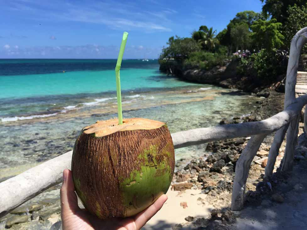 Kokoswasser mit Rum Paradisus Rio de Oro ©Thomas Mussbacher und Ines Erlacher