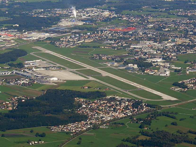 Flughafen Salzburg Quelle Wikipedia Foto von Martin Belam