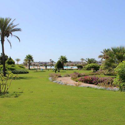 Anlage und Pool Hotel Gorgonia Beach Marsa Alam Ägypten Tauchparadies in der Krise www.gindeslebens.com