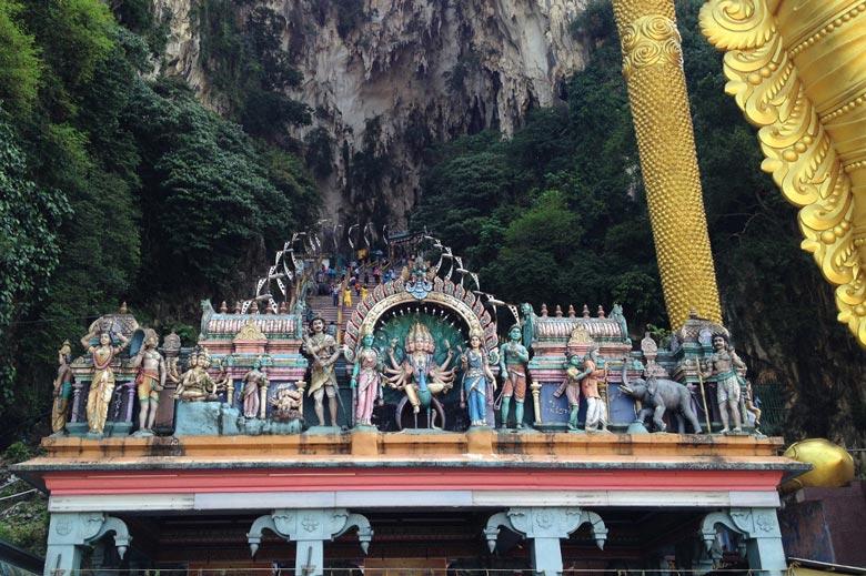 Batu Caves Kuala Lumpur Malaysia © Thomas Mussbacher und Ines Erlacher