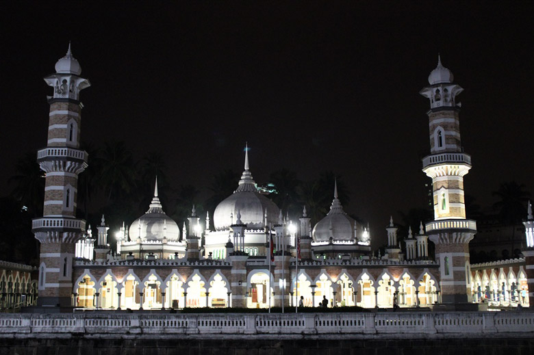 Masjid Jamek Moschee Kuala Lumpur Malaysia © Thomas Mussbacher und Ines Erlacher