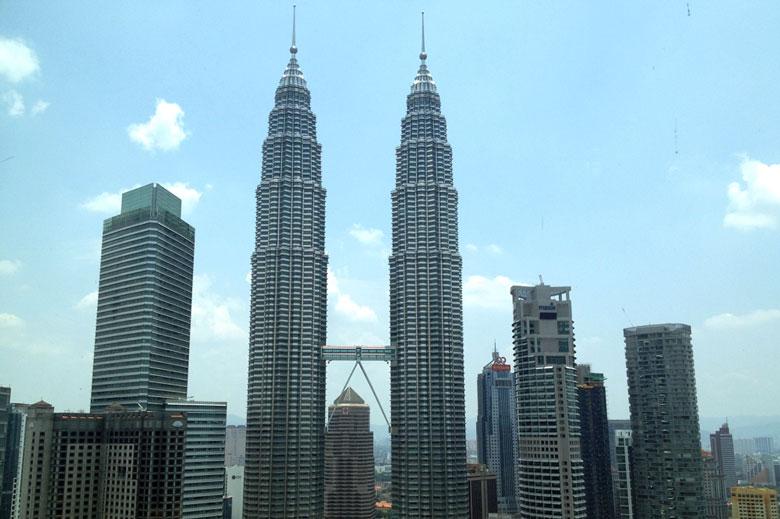 Ausblick Traders Hotel Kuala Lumpur Malaysia © Thomas Mussbacher und Ines Erlacher