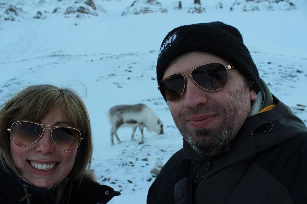 Rentiere Spitzbergen © Thomas Mussbacher und Ines Erlacher