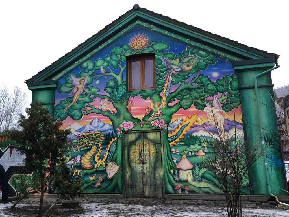 Freistadt Christiania - Kopenhagen Sehenswürdigkeiten