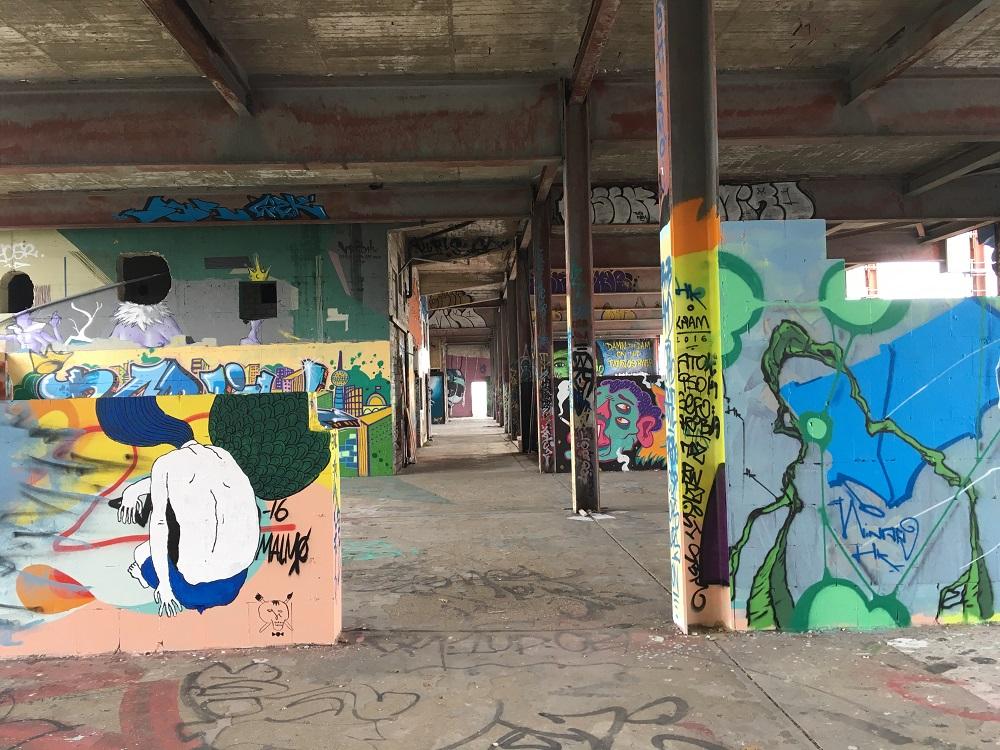 Lost Places: der Teufelsberg in Berlin