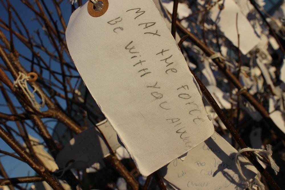 Yoko Ono Wish Tree Copenhagen © Thomas Mussbacher und Ines Erlacher