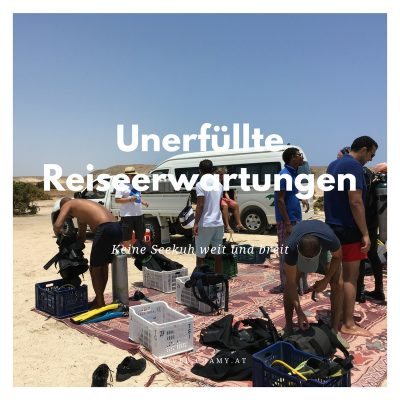 unerfüllte Reiseerwartungen Travel Chamy