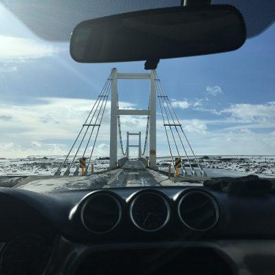 Brücke Fjorde Roadtrip Islands Ostküste www.gindeslebens.com © Ines Erlacher und Thomas Mussbacher