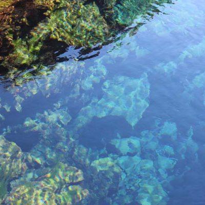glasklares Wasser Die Silfra Spalte Silfra Spalte, Þingvellir Nationalpark und Þingvallakirkja Roadtrip Island gindeslebens.com © Thomas Mussbacher und Ines Erlacher