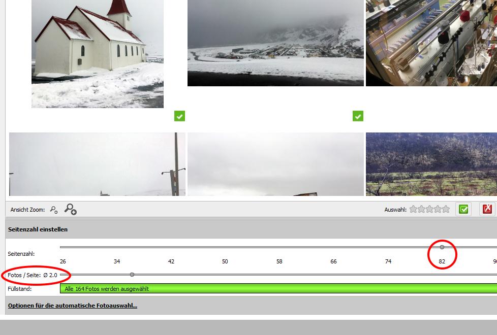 Cewe Fotobuch Seitenanzahl auswählen www.gindeslebens.com