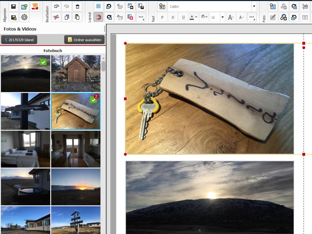 Cewe Fotobuch Verwendete Fotos www.gindeslebens.com
