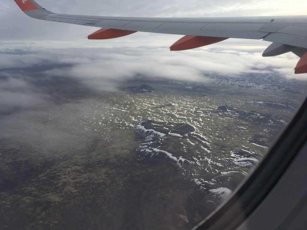 Island von oben www.gindeslebens.com