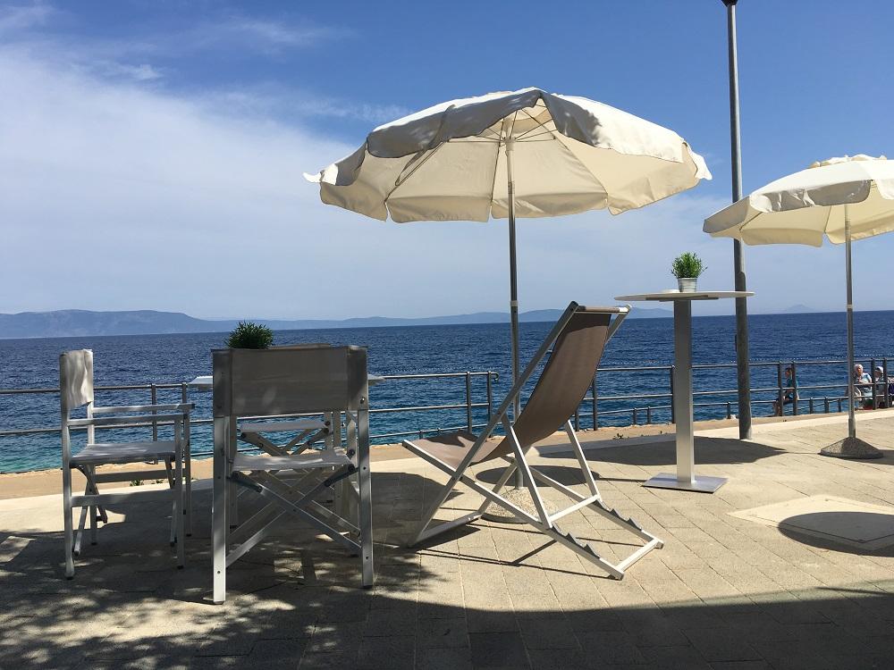 Tropic Lounge Beachbar Valamar Girandella Resort Rabac © www.gindeslebens.com