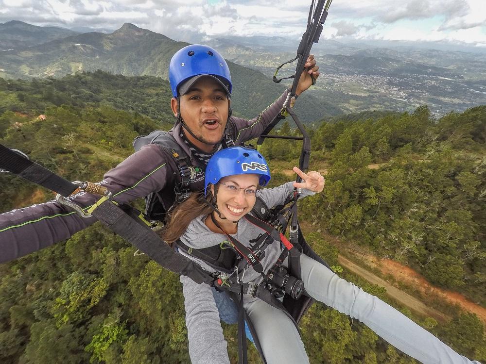 Paragliden Jarabacoa ©Barbaralicious.com