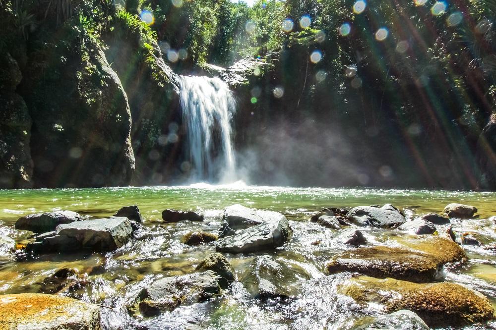 Secret Waterfall Jarabacoa ©Barbaralicious.com