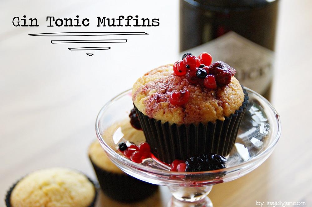 Gin Tonic Muffins http://www.inajellyjar.com