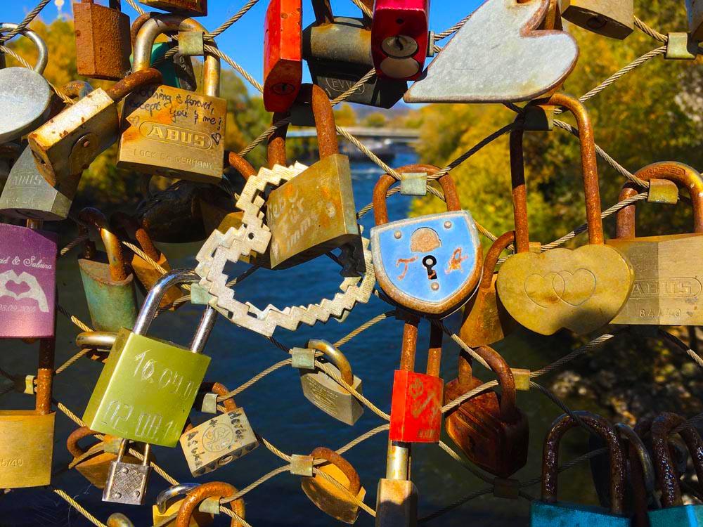 Liebesschlösser Blogparade Heimatliebe www.gindeslebens.com
