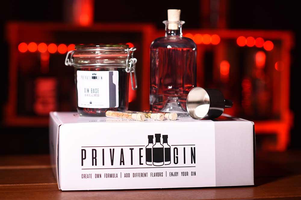 Private Gin - Gin Baukasten ©Private Gin