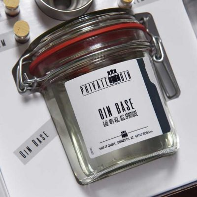 Gin Base Private Gin - Gin Baukasten ©Private Gin