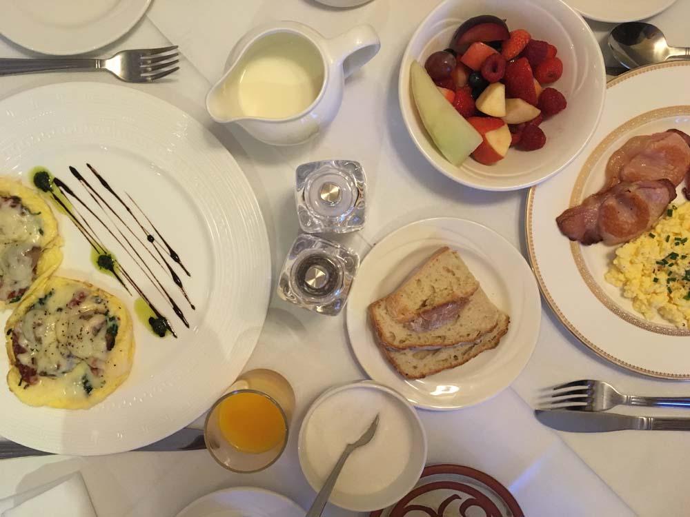 Frühstück im Heatons Guesthouse in Dingle www.gindeslebens.com