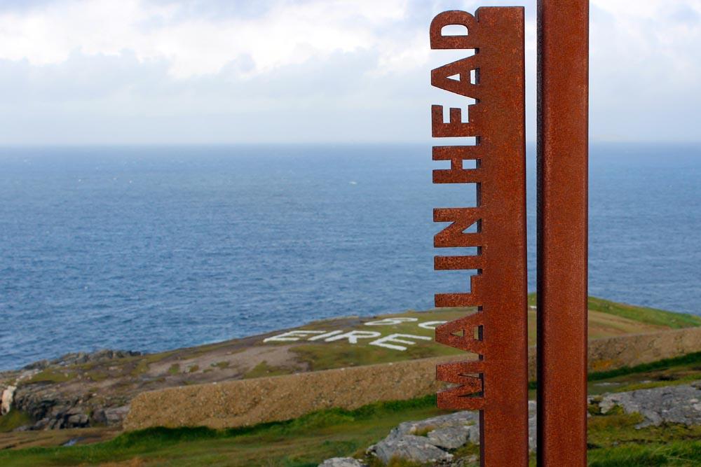 Malin Head Wild Atlantic Way Roadtrip Irland www.gindeslebens.com