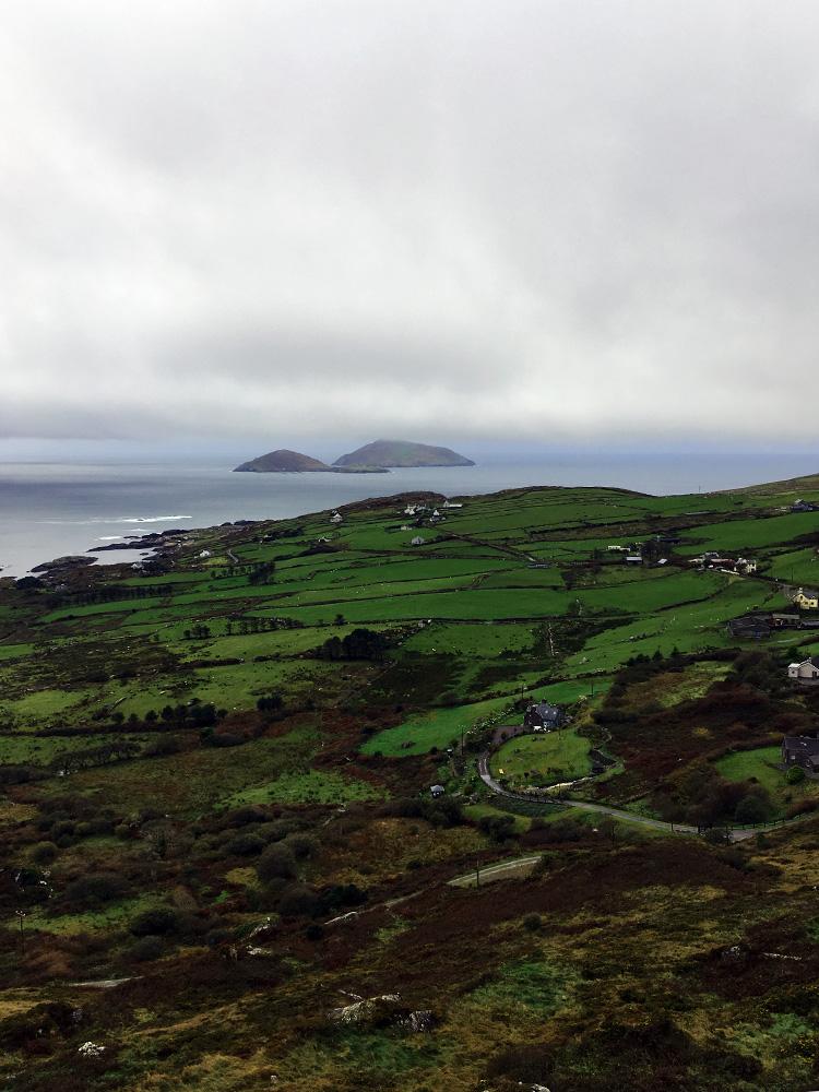 Sattes Grün und tolle Ausblicke am Wild Atlantic Way Irland und Nordirland Roadtrip www,gindeslebens,com