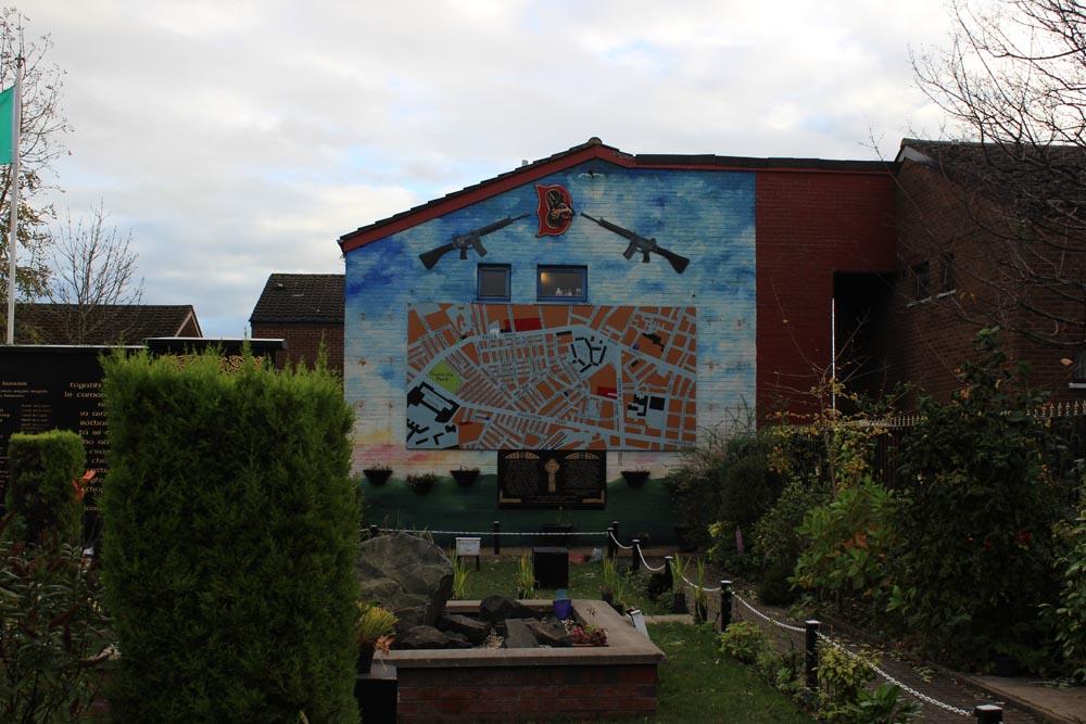 Garden of Remembrance - Murals West Belfast - die Murals im Westen von Belfast www.gindeslebens.com