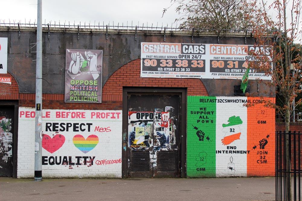 Murals West Belfast - Murlas in Belfast - die Murals im Westen von Belfast www.gindeslebens.com