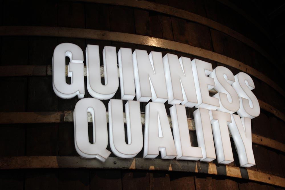 Guinness Storehouse - Dublin Sehenswürdigkeiten