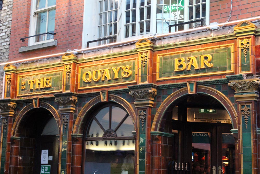 The Quays Bar und Restaurant Dublin www.gindeslebens.com