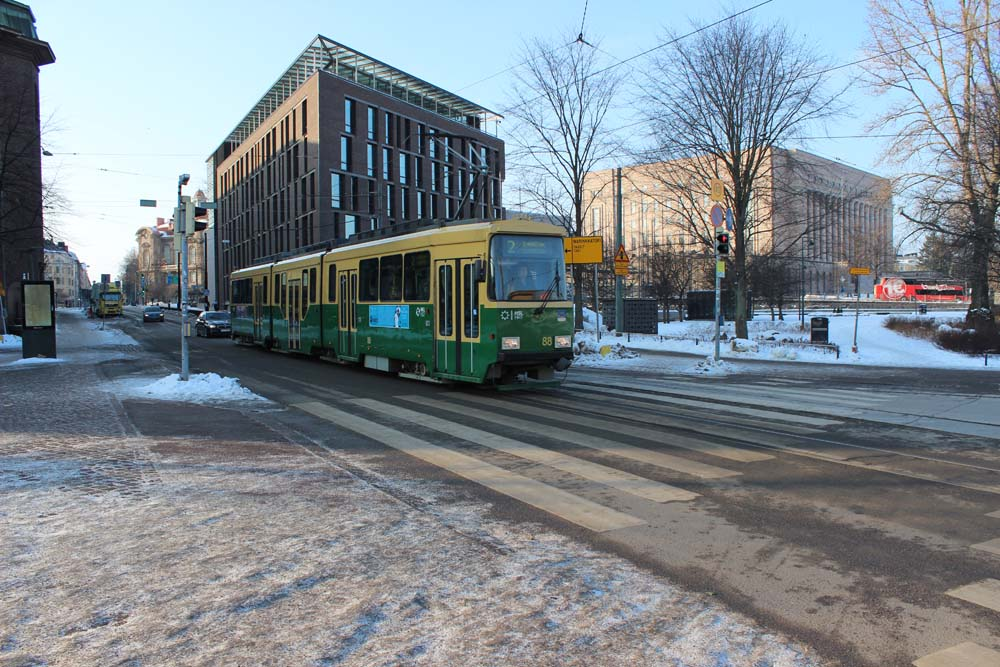 Mit der Straßenbahn auf Sightseeingtour Helsinki Sehenswürdigkeiten - Aktivitäten & Tipps mit der Helsinki Card www.gindeslebens.com