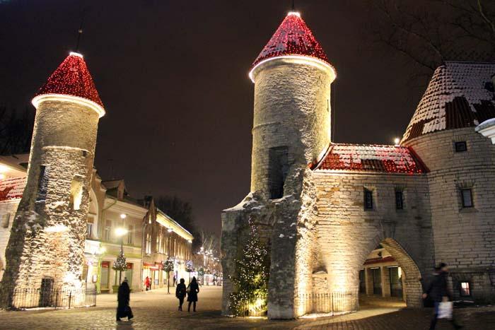 Türme Lehmpforte Sehenswürdigkeiten in Tallinn www.gindeslebens.com