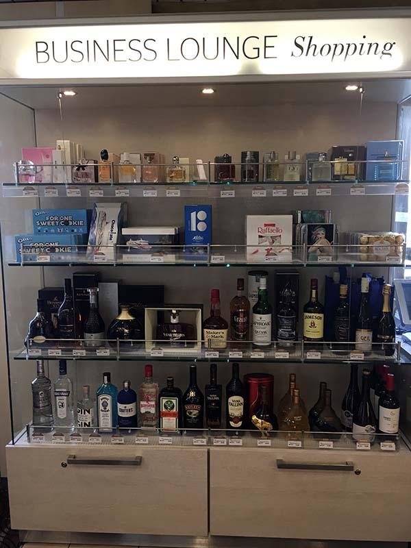 Shop Business Lounge Tallink Silja Line von Tallinn nach Helsinki www.gindeslebens.com