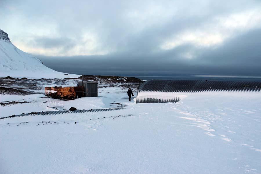 Stillgelegte Mine Arktis Fototour mit See and Explore www.gindeslebens.com