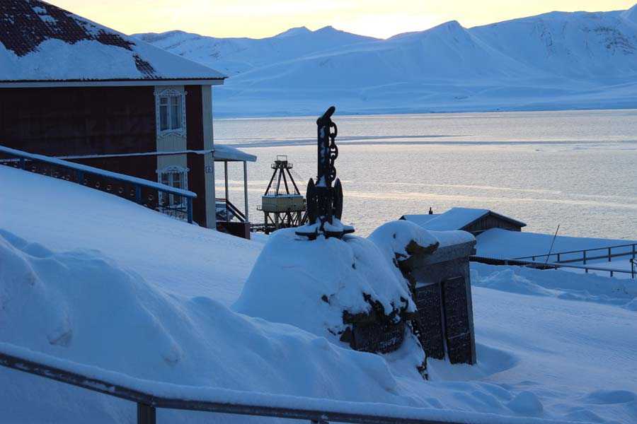 Denkmal in Barentsburg www.gindeslebens.com