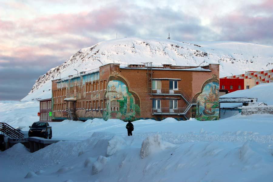 Die Schule von Barentsburg www.gindeslebens.com